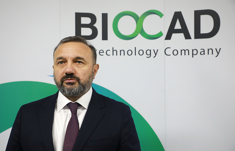 Генеральный директор ЗАО «Биокад» Дмитрий Морозов