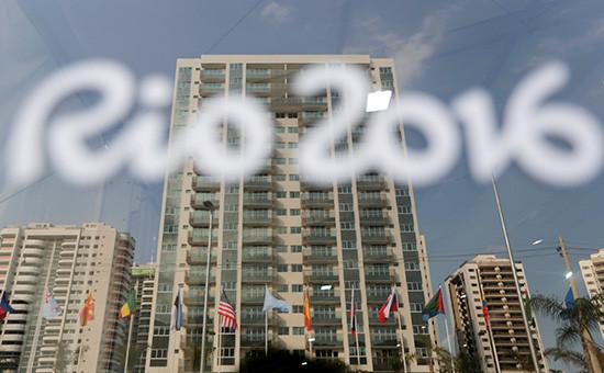 Вид нагостиничный комплекс дляразмещения участников Олимпиады вРио-де-Жанейро