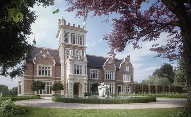 Визуализация особняка Athlone House: вид после реконструкции