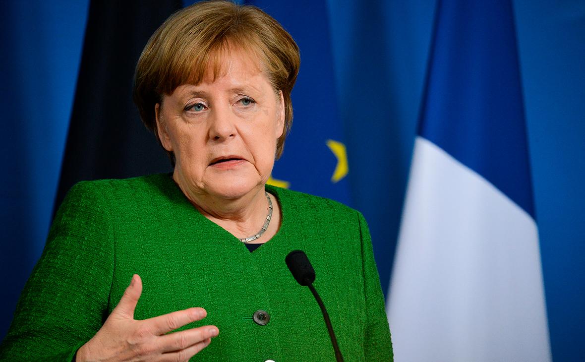 Меркель отвергла зависимость Германии от России из-за газопровода