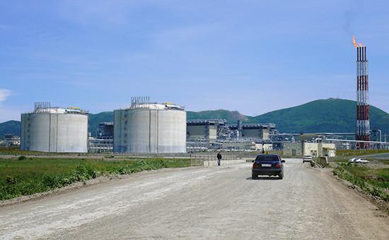 Завод СПГ по производству сжиженного природного газа «Сахалин-2», 2009 год