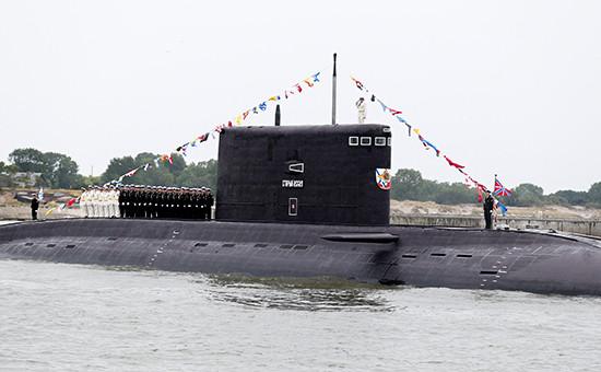 Дизель-электрическая подводная лодка «Старый Оскол», июль 2015 года
