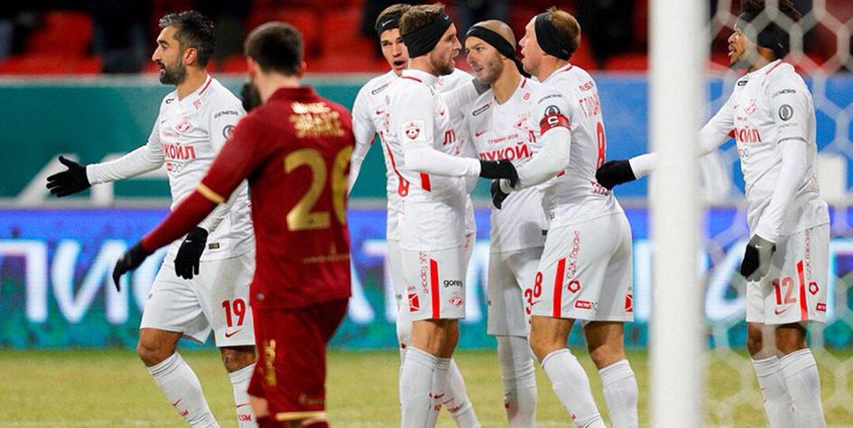 «Спартак» сократил отставание от «Локомотива» до пяти очков