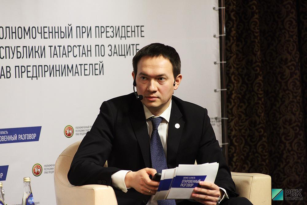 Уполномоченный при президенте Татарстана по правам предпринимателей Тимур Нагуманов