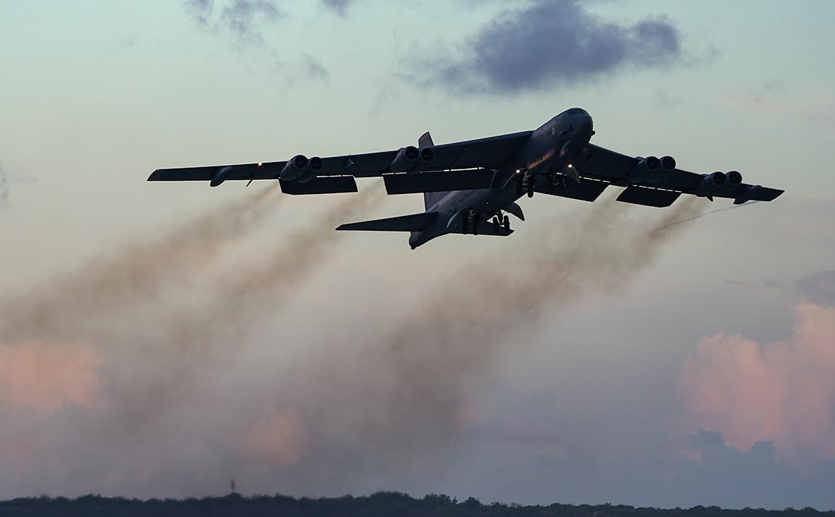 американский бомбардировщик B-52H