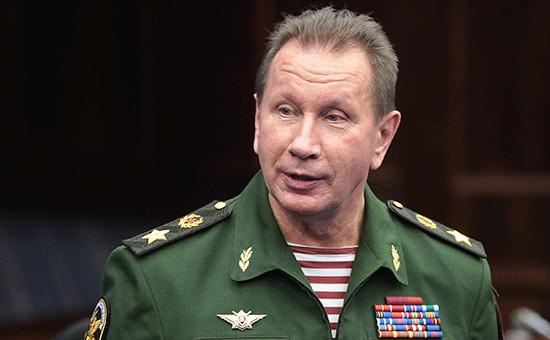 Главнокомандующий Нацгвардии России Виктор Золотов