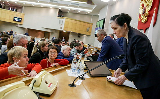 Парламентские слушания в Госдуме по законопроекту о реновации