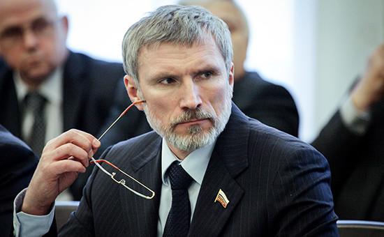 Депутат Госдумы от«Единой России» Алексей Журавлев