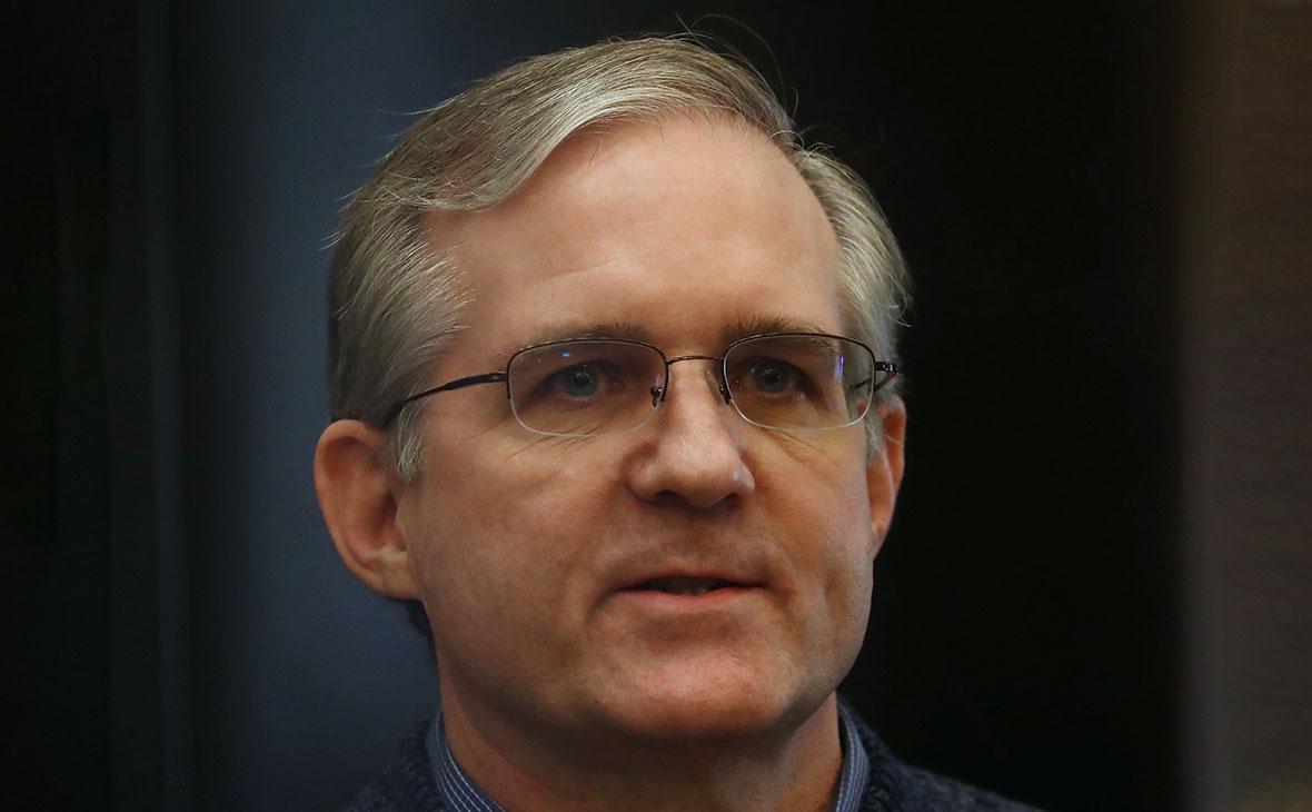 Пол Уилан во время оглашения приговора в Мосгорсуде
