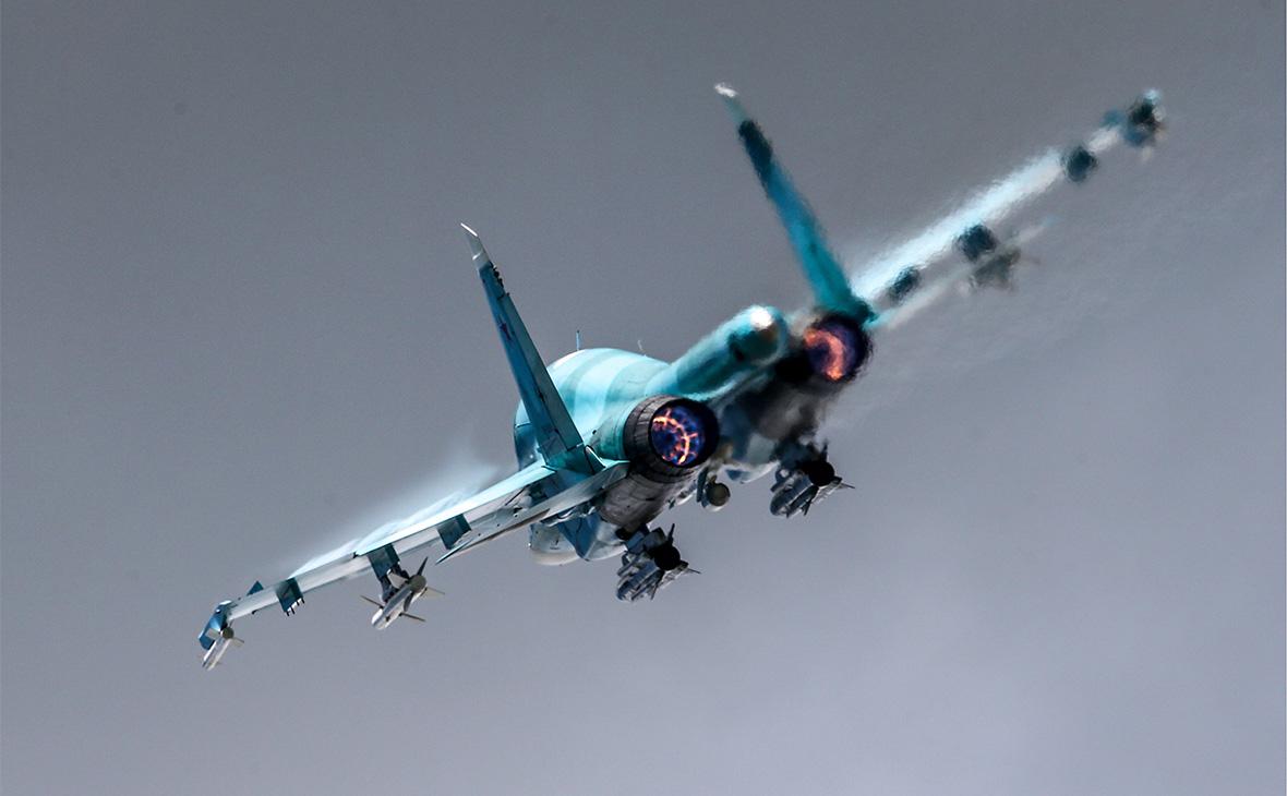 Истребитель Су-34