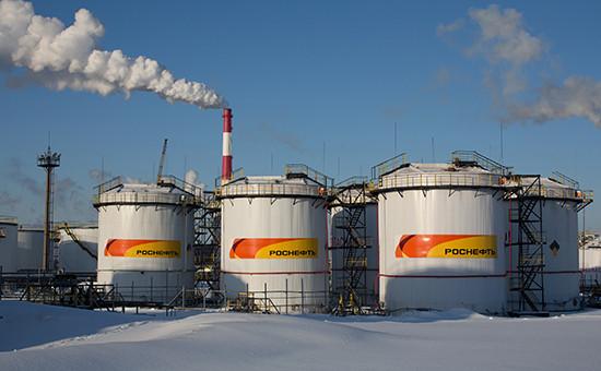 НПЗ«Роснефти» в Новокуйбышевске
