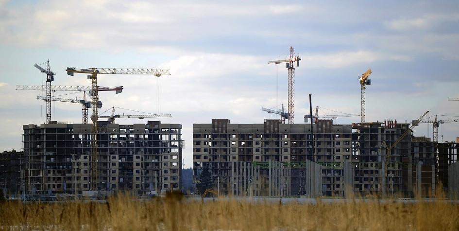 Строительство жилых домов вНовой Москве