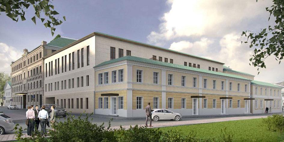 Проект реконструкции зданий наБольшой Никитской