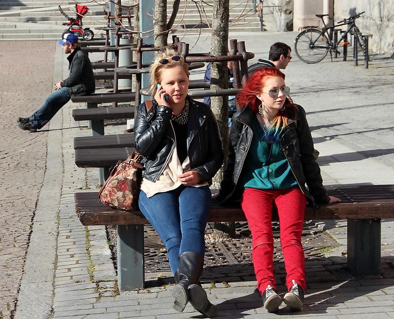 Тампере. Молодежь Финляндии