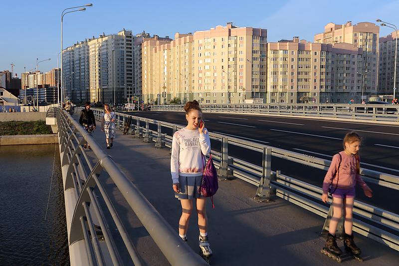 Мост через Дудергофский канал