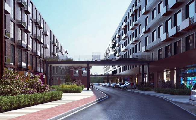Квартал апартаментов Loft Park
