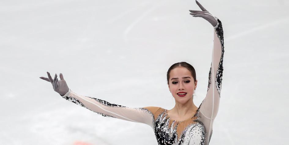 Фигуристка Загитова стала второй в короткой программе на чемпионате мира