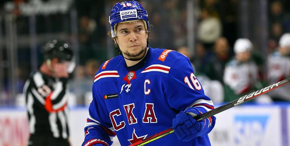 Чемпион мира по хоккею Сергей Плотников