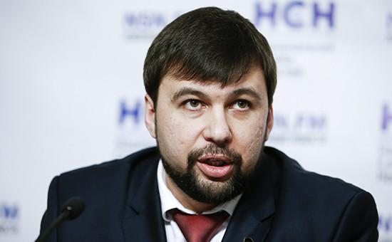 Вице-спикер парламента ДНР Денис Пушилин