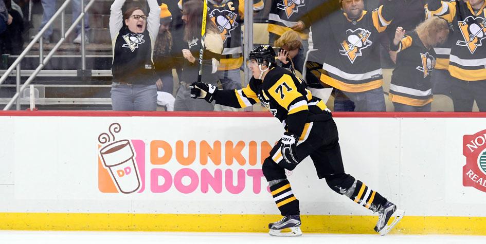 Евгений Малкин стал второй звездой дня в НХЛ