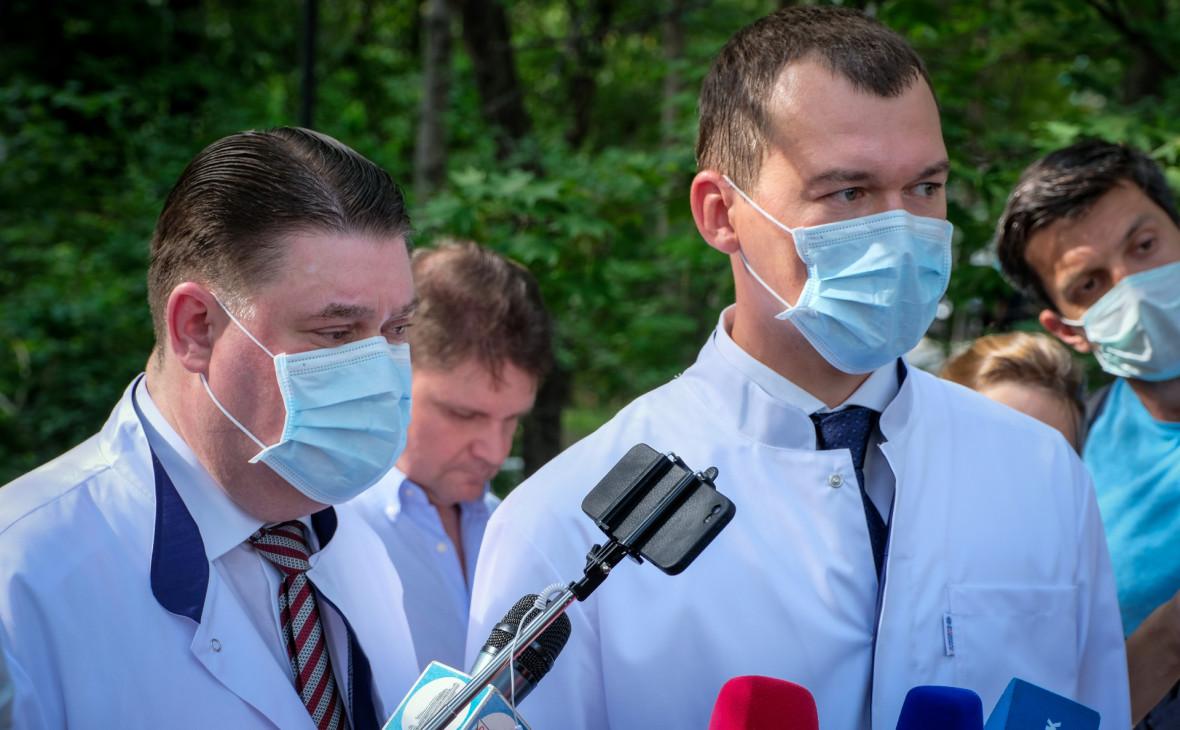 Александр Витько и Михаил Дегтярев