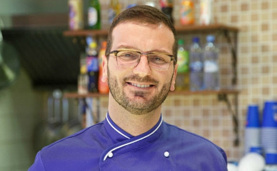 Шеф-повар пиццерии Express Trattoria Никола Ди Мауро