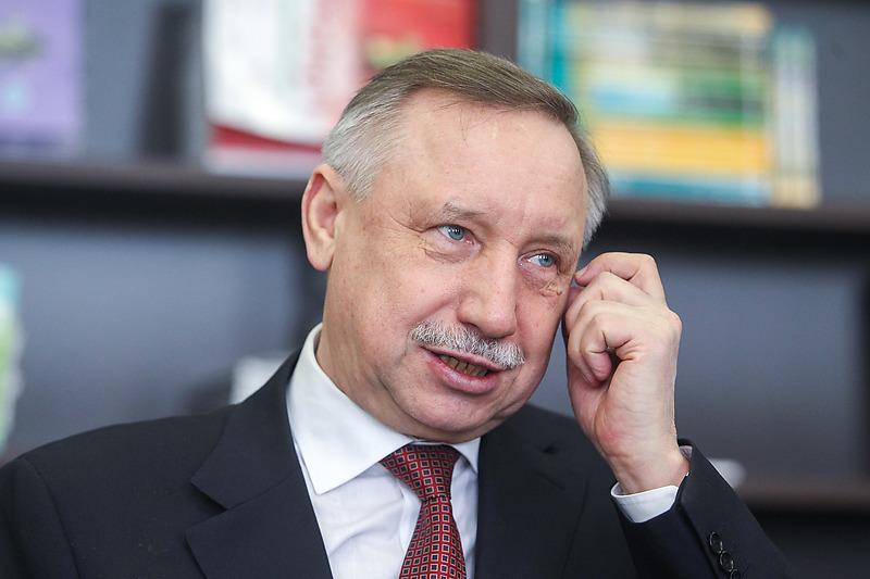 Врио губернатора Санкт-Петербурга Александр Беглов