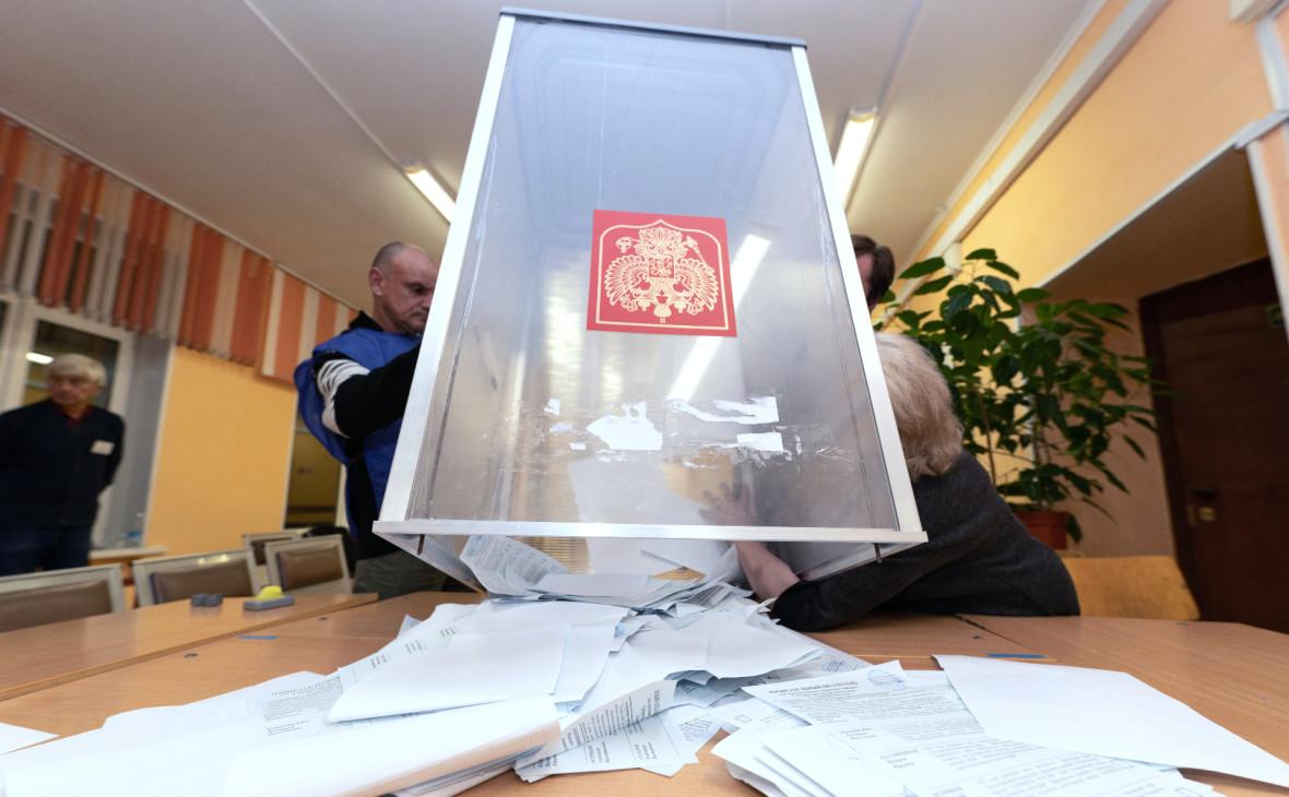 Экзитпол показал появление новых партий в парламентах регионов