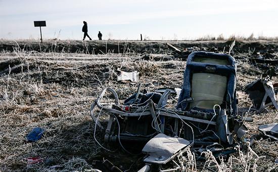 Обломки Boeing MH17. Декабрь 2014 года