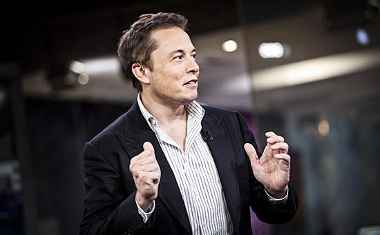 Создатель проектов SpaceX и Tesla Motors предприниматель Илон Маск