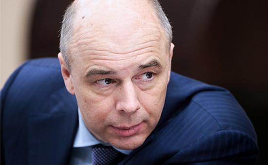 Глава министерства финансов РФ Антон Силуанов