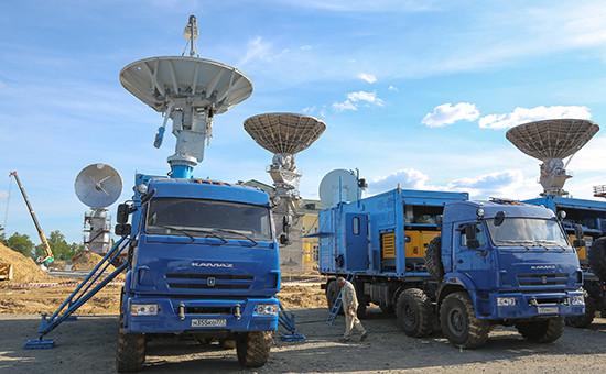 Антенны космической связи