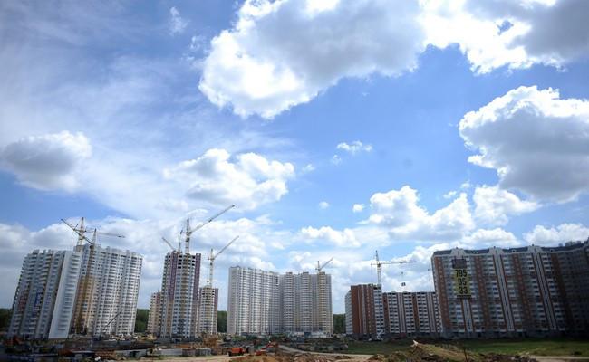 Строительство жилого микрорайона в Ленинском районе Московской области