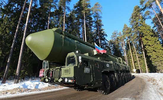 Подвижной грунтовой ракетный комплекс «Ярс»