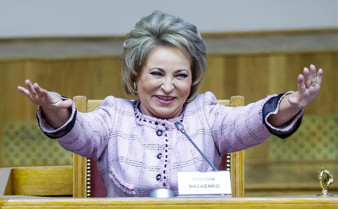Беглов запланировал выдвинуть Матвиенко в сенаторы от Санкт-Петербурга