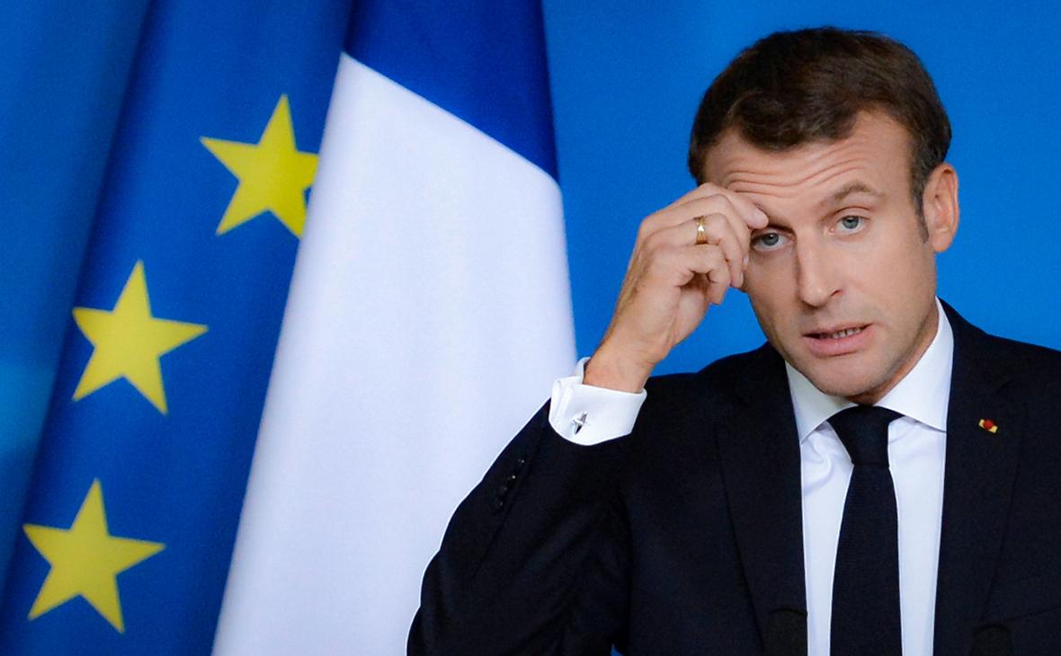 Макрон назвал события в Сирии ослабляющей НАТО «серьезной ошибкой»
