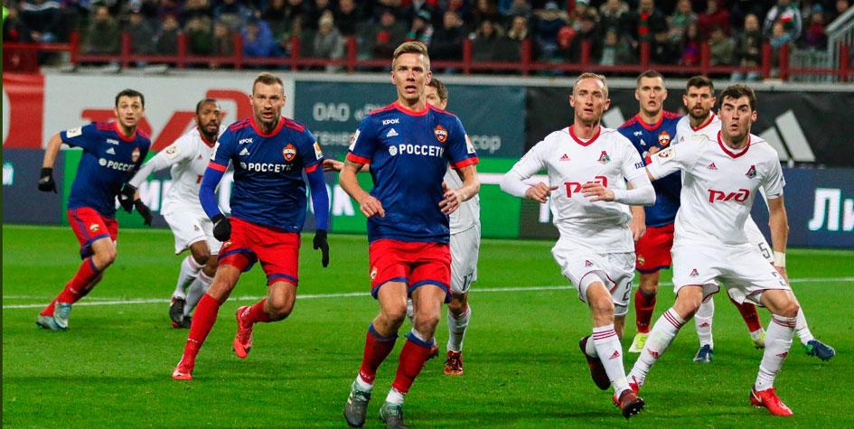 ЦСКА в меньшинстве удержал ничью в матче с «Локомотивом»