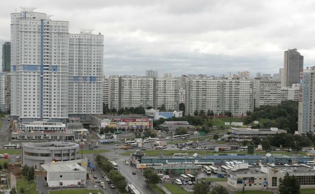 Жилая застройка вМоскве