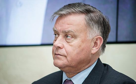 Экс-глава РЖД Владимир Якунин