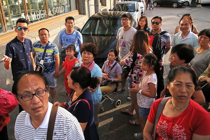 Санкт-Петербург. Китайские туристы
