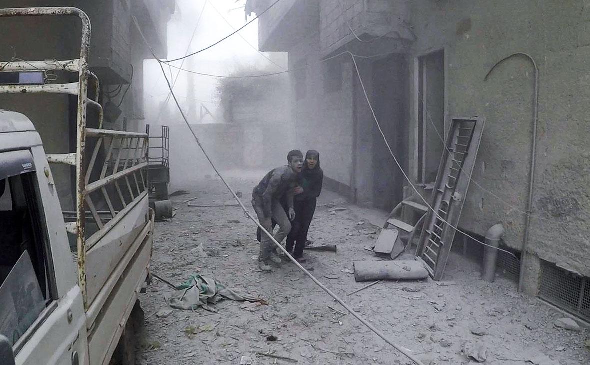 Фото: Syrian Civil Defense White Helmets / AP