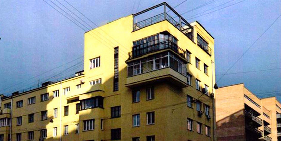 Жилой дом Сахаротреста расположен на 2-й Тверской-Ямской улице