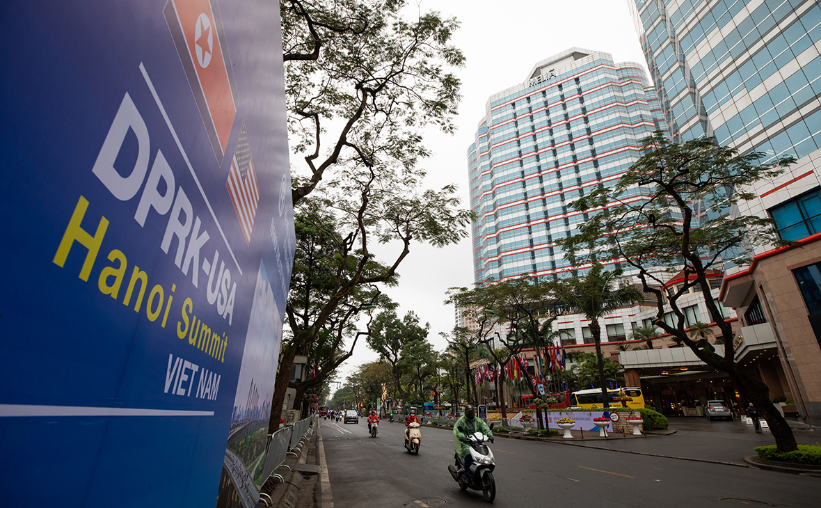Вид наMelia Hanoi Hotel