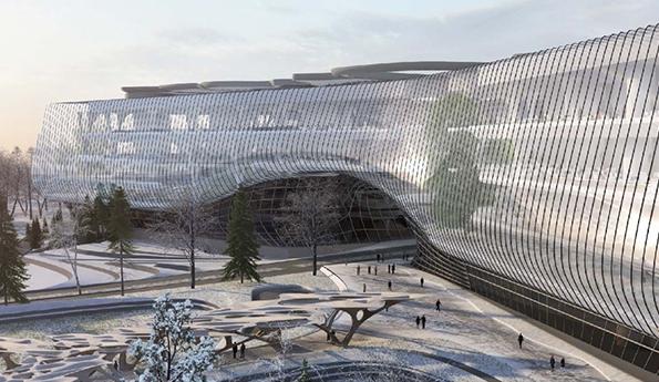 Фото:Zaha Hadid Architects, Москомархитектура