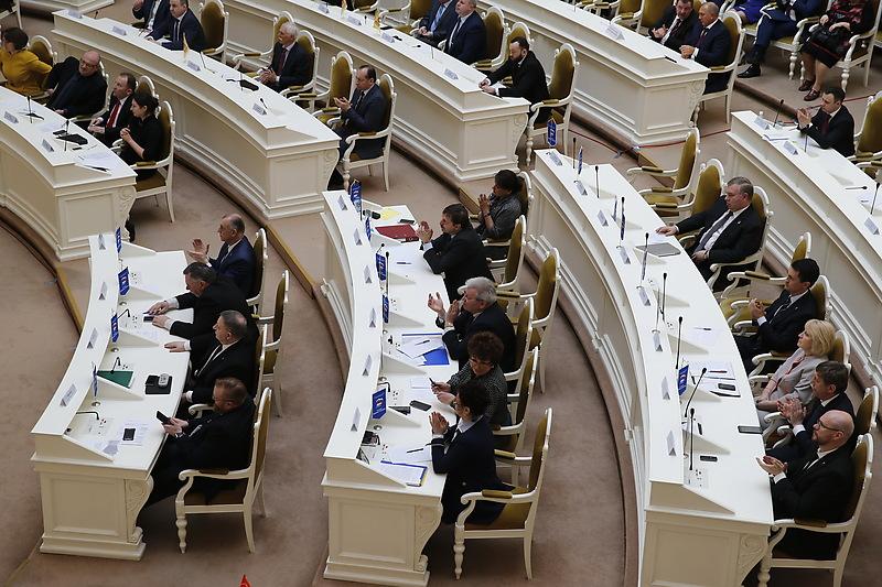 Депутаты петербургского парламента