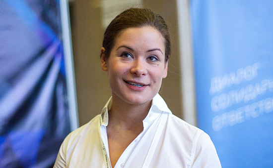 Российский политик Мария Гайдар