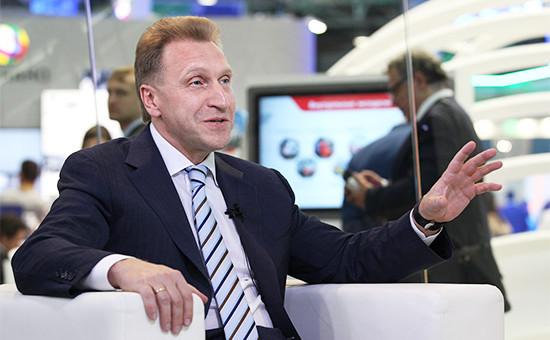 Вице-премьер ИгорьШувалов