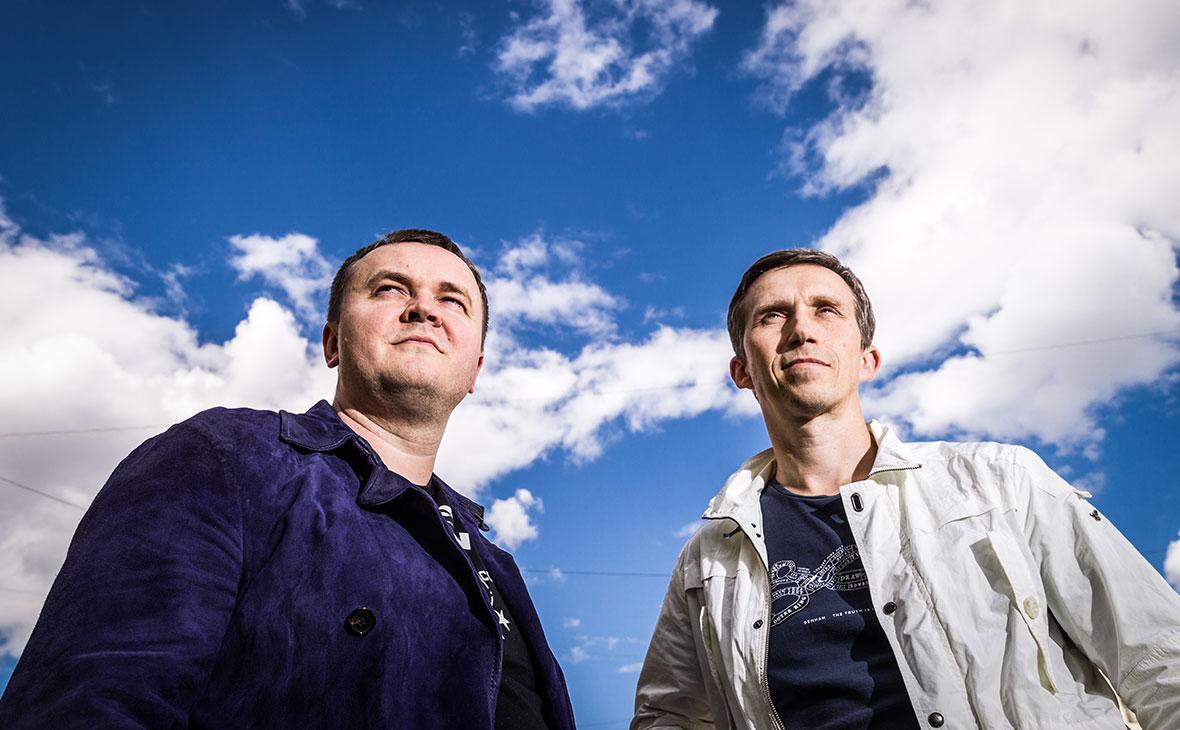 Денис Харитонов и Андрей Бондаренко (слева направо)