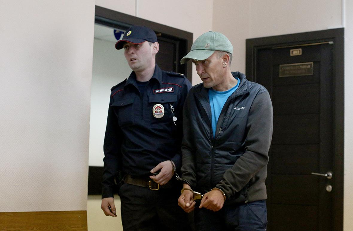 Игорь Подпоринв Замоскворецком суде. 26 мая 2018 года