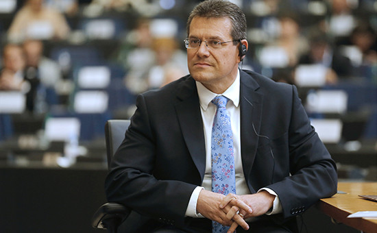 Зампред Еврокомиссии Марош Шефчович